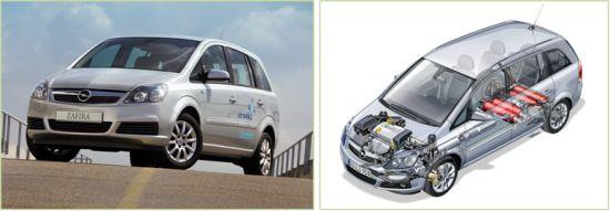 Opel Zafira CNG Erdgas Erdgasauto