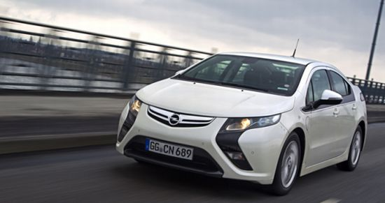 Opel Ampera Hybridauto serieller Hybridantrieb
