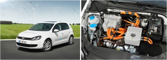 Volkswagen VW Golf Elektroauto