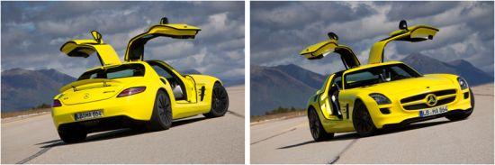 SLS AMG E-CELL: Supersportwagen mit Elektroantrieb