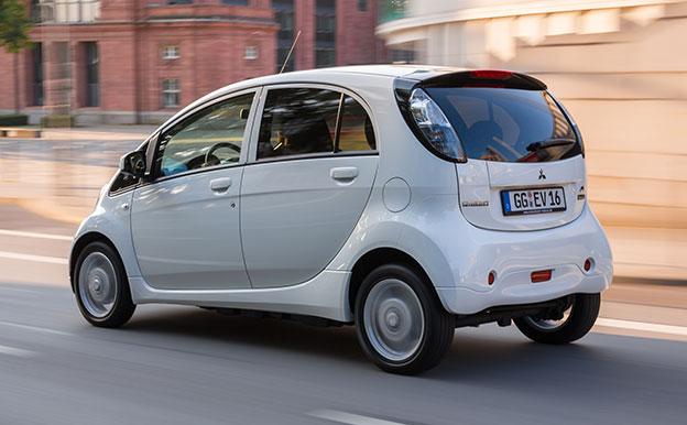 Mitsubishi i-MiEV Electric Vehicle Elektroauto
