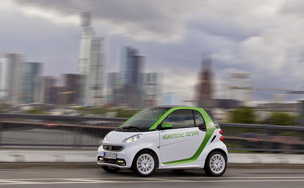 smart fortwo electric drive Elektroauto