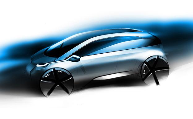BMW Megacity Vehicle Elektroauto Konzept