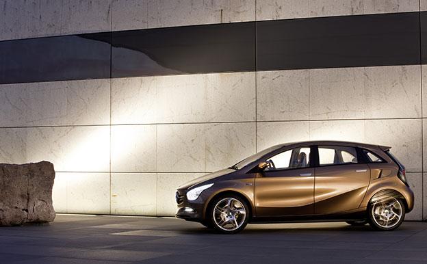 Mercedes-Benz BlueZERO E-Cell Elektroauto Konzept