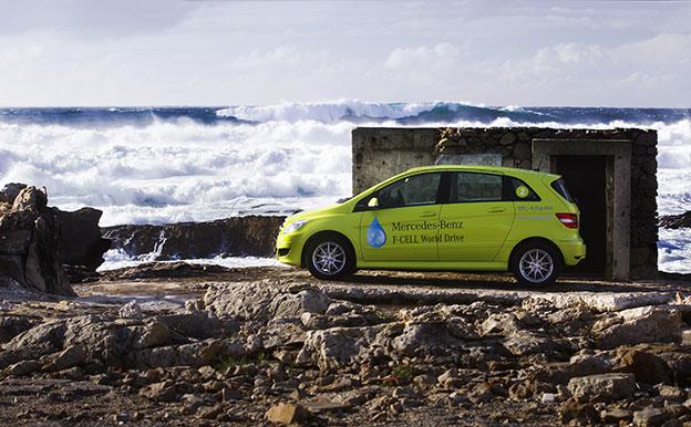 Mercedes-Benz B-Klasse F-CELL Brennstoffzellenauto Wasserstoffauto