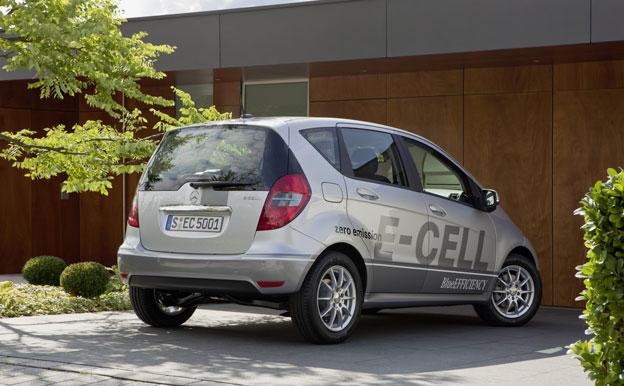Mercedes-Benz A-Klasse E-CELL Elektroauto