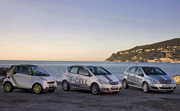 Smart Fortwo Electric Drive Mercedes-Benz E-CELL F-CELL