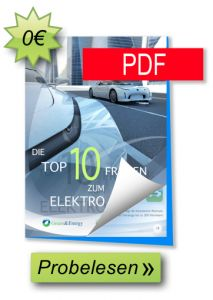 eBook: Die TOP 10 Fragen zum Elektroauto - Probelesen