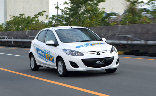 Mazda2 Demio Elektroauto
