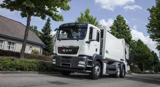 MAN Metropolis: Rein elektrisches Müllsammel-Fahrzeug für den urbanen Raum (Quelle: MAN)