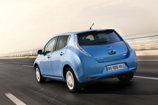 20130429 - Nissan Leaf Back