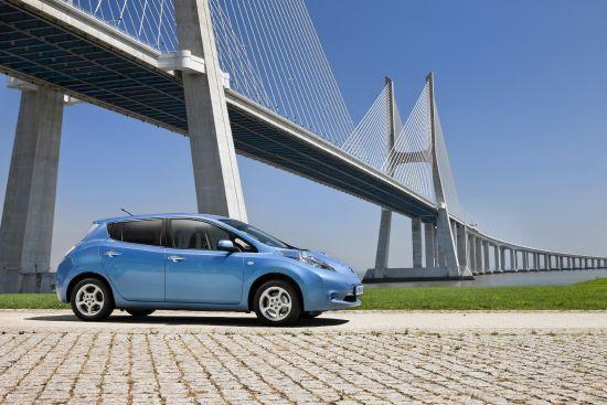 Nissan Leaf: Das erste Grossserien-Elektroauto weltweit (Quelle: NISSAN)