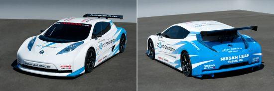 Nissan Leaf Nismo RC: Mittelmotor mit 80 kW Leistung und 280 Nm Drehmoment, Batteriekapazität 24 kWh (Quelle: NISSAN)
