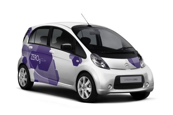 Citroen C-Zero: Baugleich mit Mitsubishi i-MiEV und Peugeot iOn (Quelle: CITROEN)