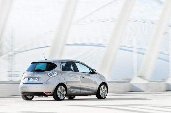 Renault ZOE: Lithium-Ionen-Batterie mit 22 kWh Leistung ist luftgekühlt und 290 kg schwer (Quelle: Renault)