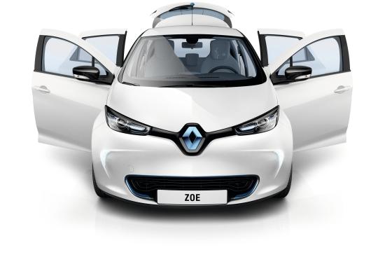 Renault ZOE: Das fünftüriger Kompaktklasse-Eauto hat das Format eines Renault Clio (Quelle: Renault)