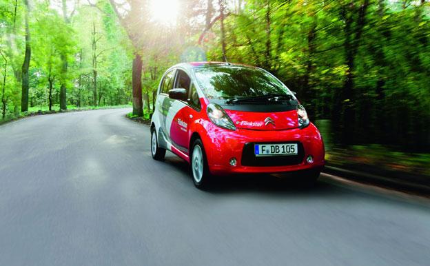 Carsharing Elektroauto Flinkster