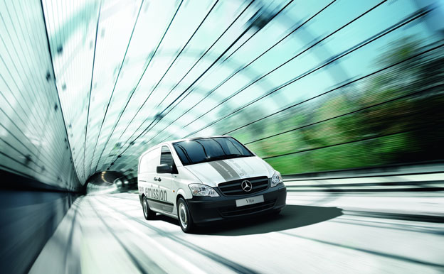 Mercedes-Benz Vito E-CELL Elektroauto Elektrotransporter