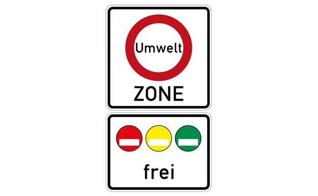 Umweltzone Verkehrsschild
