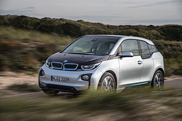 BMW i3: Das Elektroauto von BMW zählt zu dem meist verkauften Autos mit reinen Elektroantrieb in Deutschland im Jahr 2014 (Quelle: BMW)