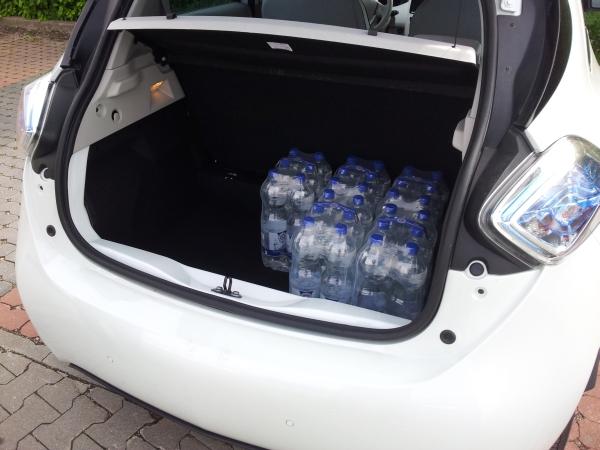 Renault ZOE: Das Elektroauto bietet einen ausreichend großen Kofferraum und erlaubt 400 kg Zuladung