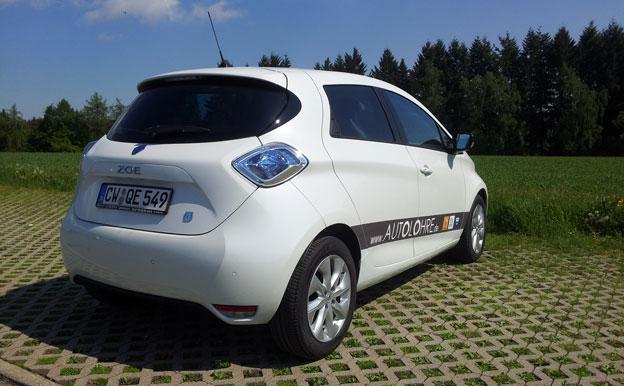 Renault ZOE Elektroauto Testfahrt