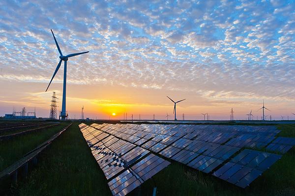 Ökostrom Windkraft Sonnenkraft Elektromobilität