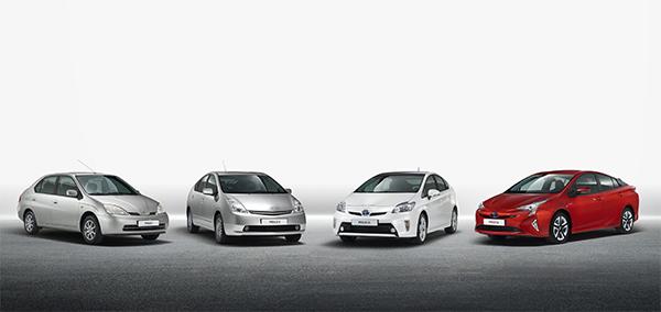Toyota Prius Generationen