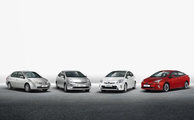 Toyota Prius Hybridautos Paralleler Hybridantrieb