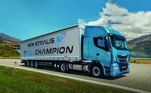 Iveco Stralis Natural Power Erdgas CNG LKW
