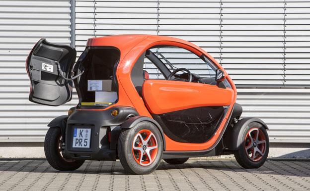 Renault Twizy Cargo Elektroauto Elektrotransporter