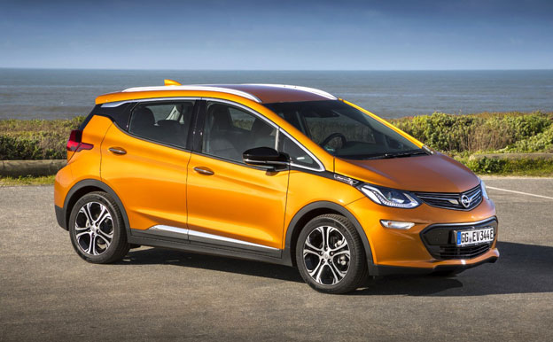 Opel Ampera-e Elektroauto Elektrofahrzeug