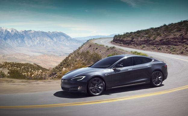 Tesla Model S Elektroauto Elektrofahrzeug