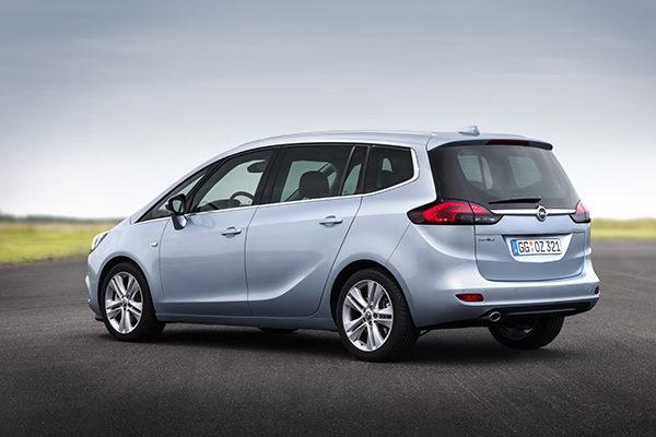 Opel Zafira Autogas Erdgas