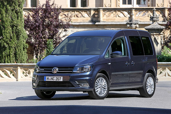 VW Caddy 1,4-l-TGI BlueMotion Erdgas CNG