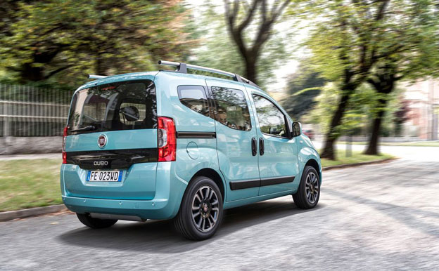 Fiat Qubo Natural Power CNG Erdgas