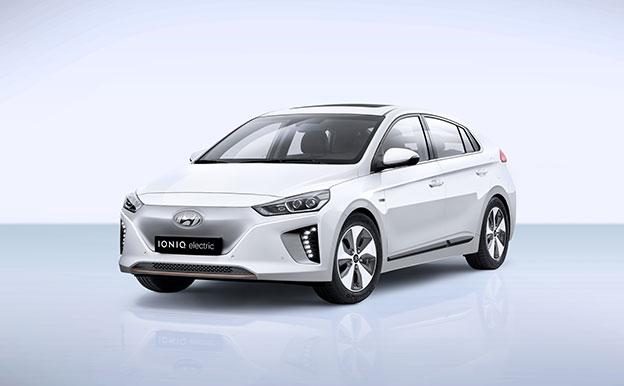 Hyundai Ioniq Electric Elektro Elektroauto Elektrofahrzeug