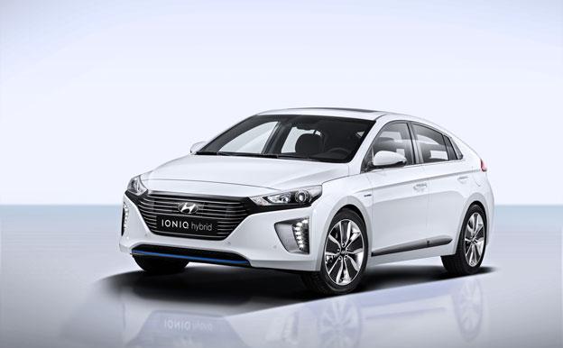 Hyundai Ioniq Hybrid HEV Hybridauto Hybridfahrzeug