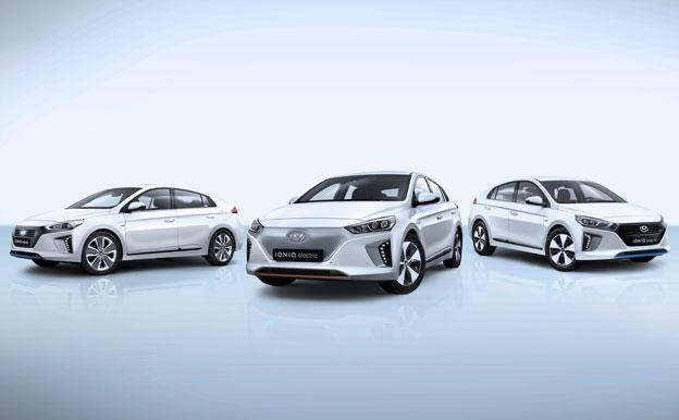 Hyundai Ioniq Familie Elektro Hybrid Plug-In