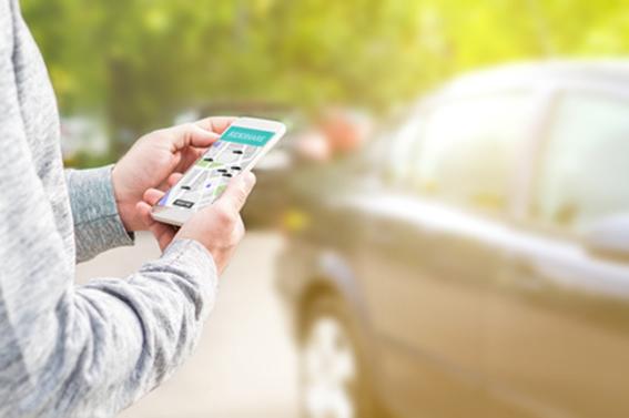 Carsharing Smartphone Mobilität Digitalisierung