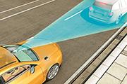 Titelbild Fahrerassistenzsysteme Bremsassistent