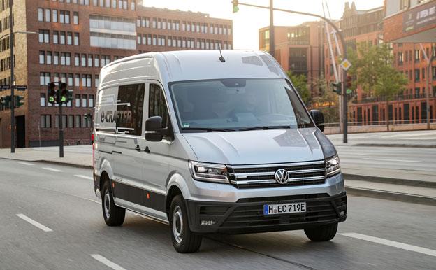 Volkswagen VW e-Crafer Elektroauto Elektrotransporter