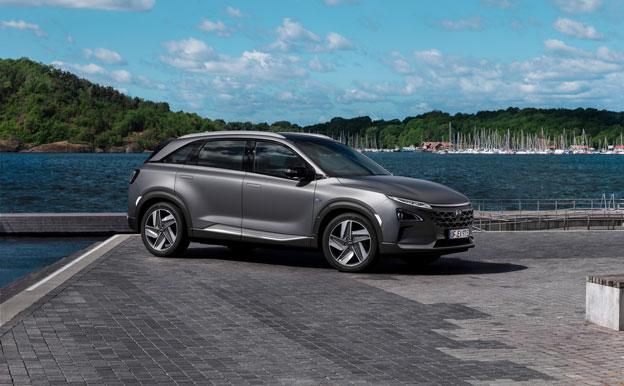 Hyundai Nexo FCEV Brennstoffzellenauto Wasserstoffauto