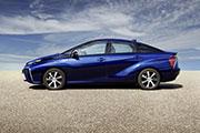 Toyota Mirai Brennstoffzellenauto