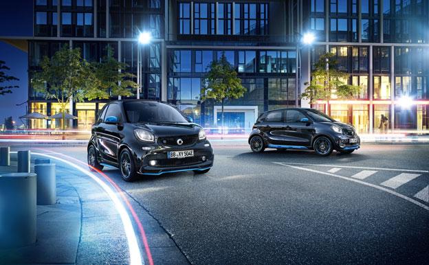 Smart EQ Fortwo Forfour Elektroauto Elektrofahrzeug