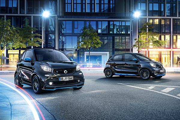 Smart EQ fortwo und Smart EQ forfour Elektroauto