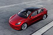 Titelbild Tesla Model 3 Elektroauto