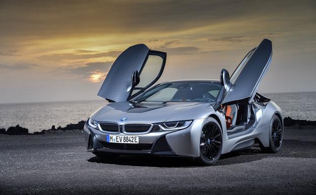 BMW i8 Coupe Plug-In-Hybrid PHEV Plug-In-Hybridauto