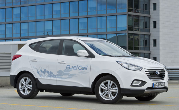 Hyundai ix35 Fuel Cell FCEV Brennstoffzellenauto Wasserstoffauto