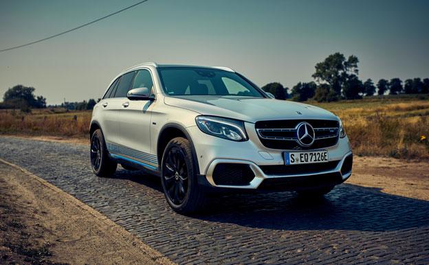 Mercedes-Benz GLC F-CELL FCEV Brennstoffzellenauto Wasserstoffauto